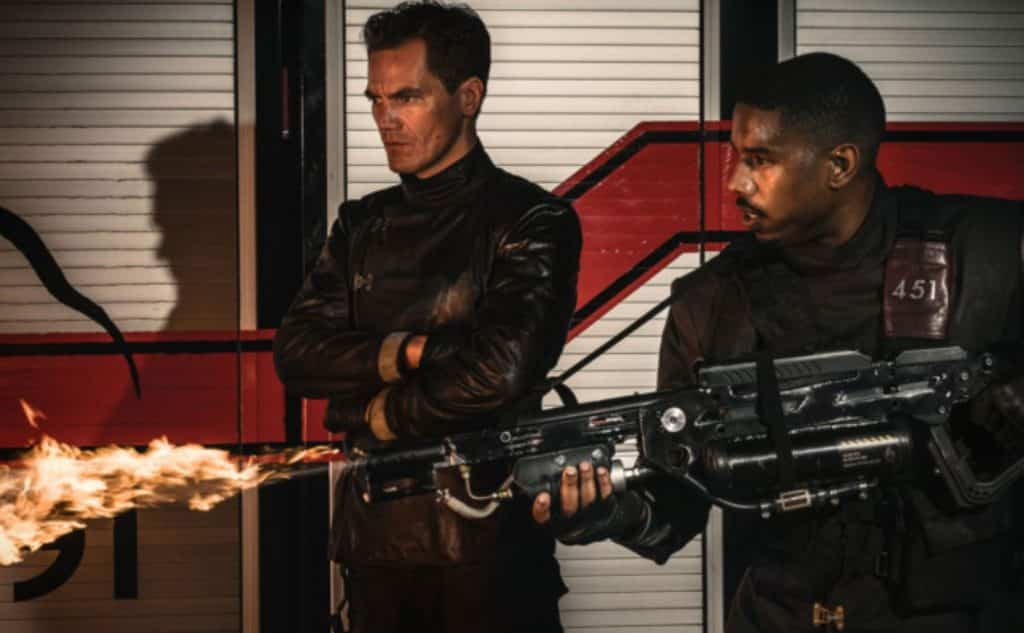 Books are burning in first Fahrenheit 451 film teaser