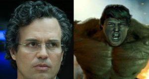 Mark Ruffalo Hulk Donald Trump