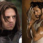 Sebastian Stan Hugh Jackman Wolverine