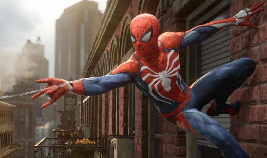 Spider-Man Video Game 2018 PS4