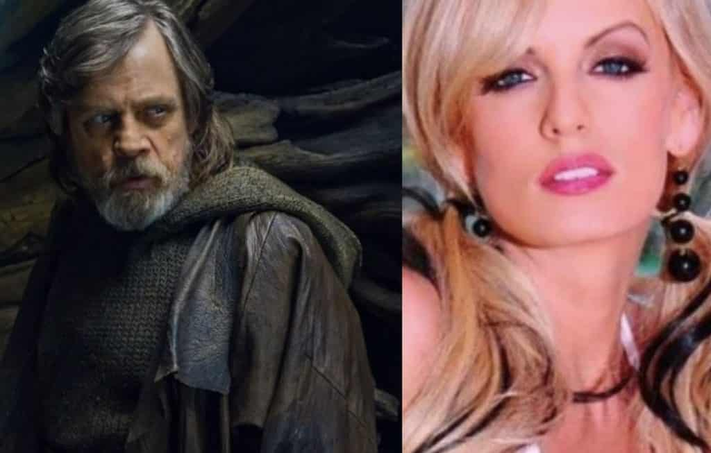 Star Wars: The Last Jedi Mark Hamill Stormy Daniels