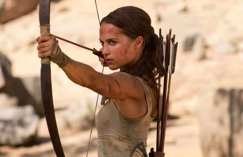 Tomb Raider Movie 2018 Alicia Vikander