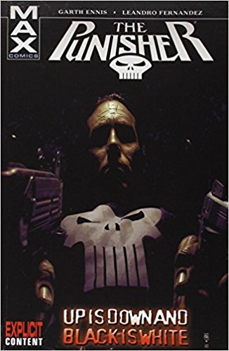 The Punisher Up Is Down And Black Is White