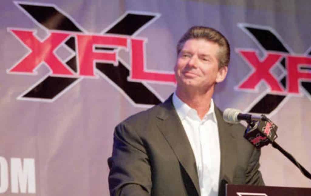 XFL 2020 Vince McMahon