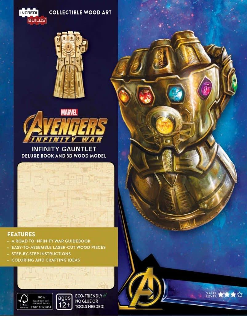 IncrediBuilds: Marvel: Infinity Gauntlet Deluxe Book and Model Set