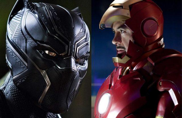 Black Panther Iron Man 2