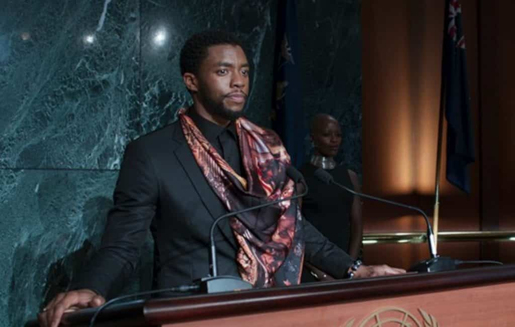 Black Panther Post-Credits Scene Chadwick Boseman