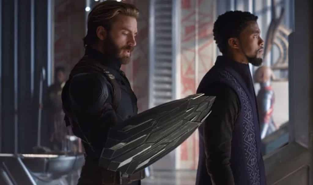 Captain America Infinity War New Shield
