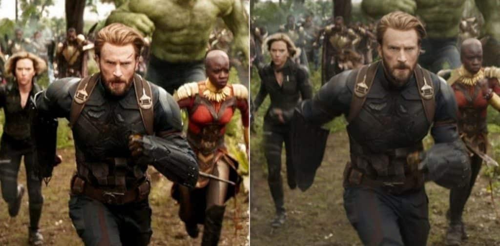 Captain America Infinity War New Shield