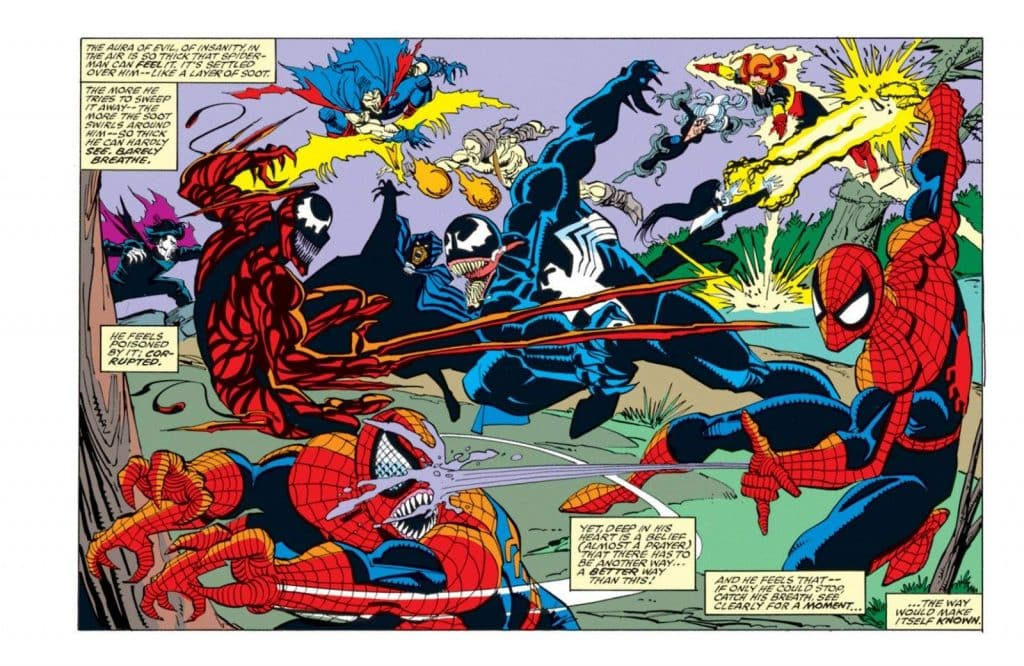 Maximum Carnage Marvel Comics