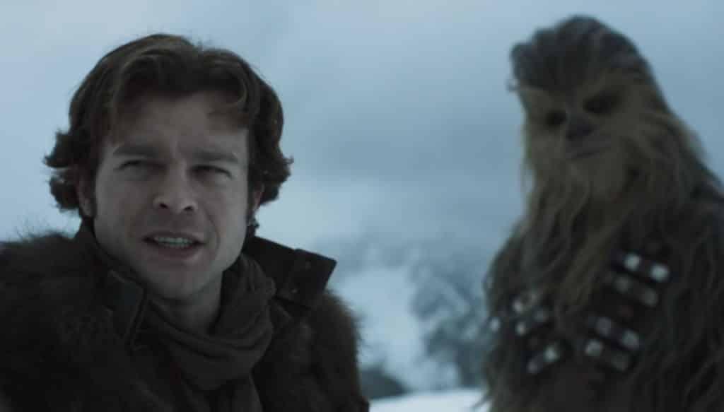 Solo: A Star Wars Story Trailer Alden Ehrenreich