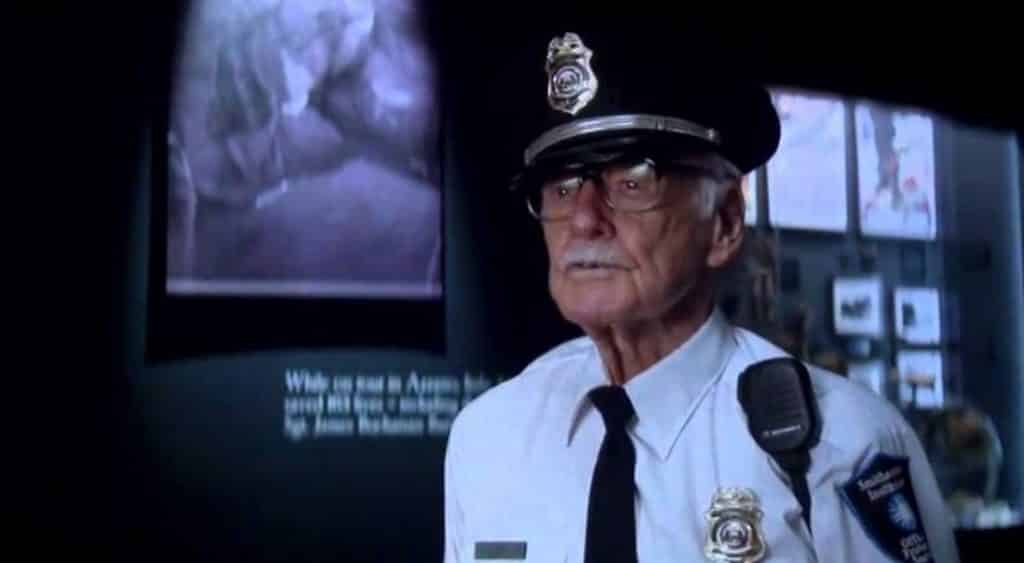 Stan Lee Captain America: The Winter Soldier