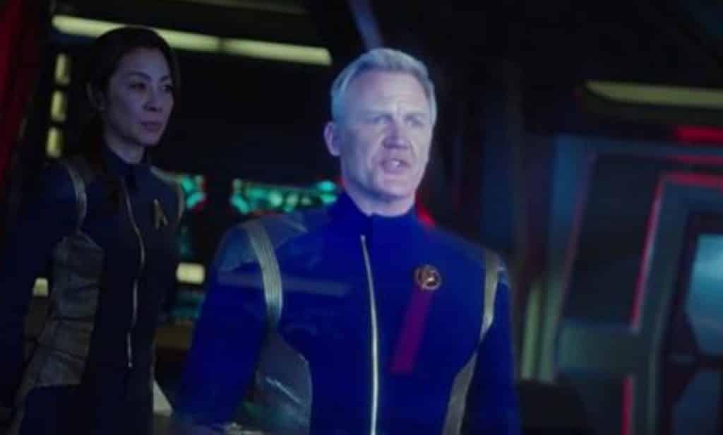 Admiral Brett Anderson Star Trek: Discovery