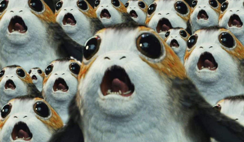 Star Wars: The Last Jedi Porgs
