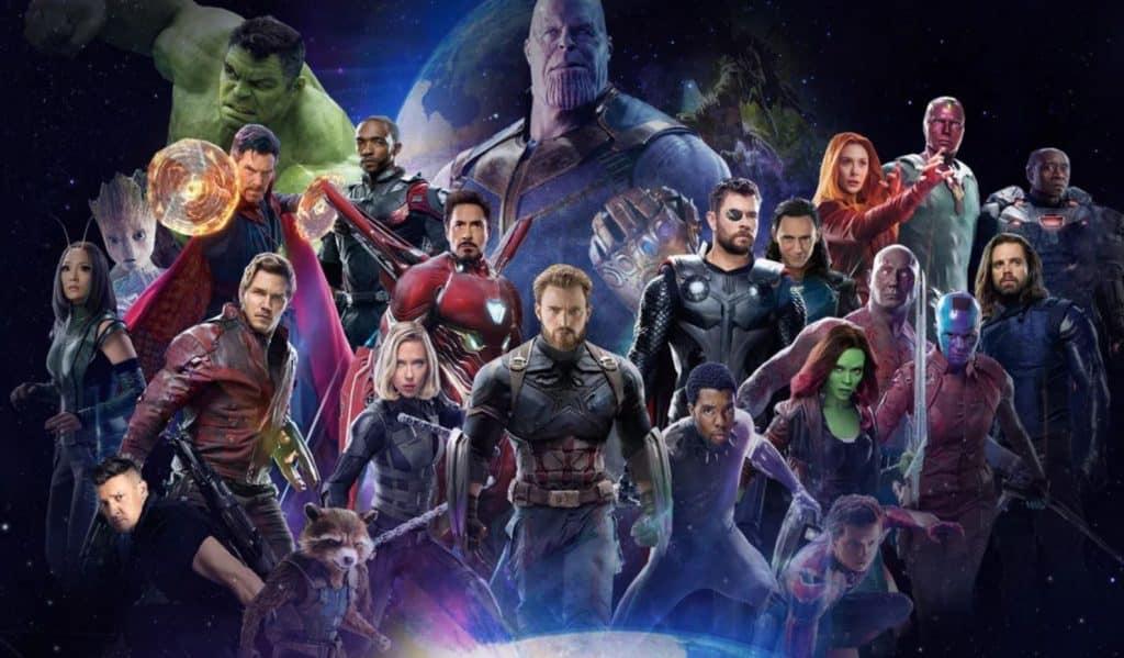 Movie poster avengers infinity war t-shirt