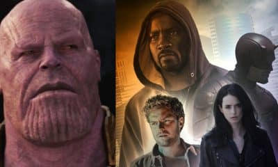 Avengers: Infinity War The Defenders