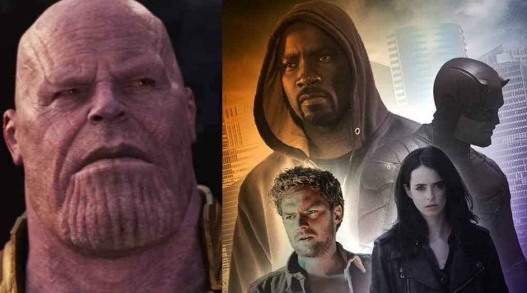 Avengers: Infinity War The Defenders