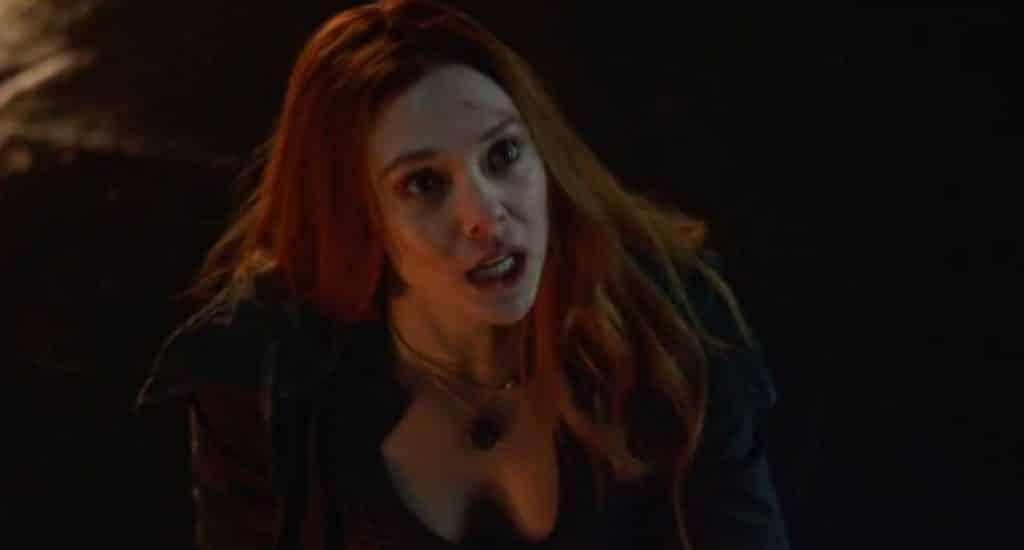 Avengers: Infinity War Scarlet Witch Elizabeth Olsen