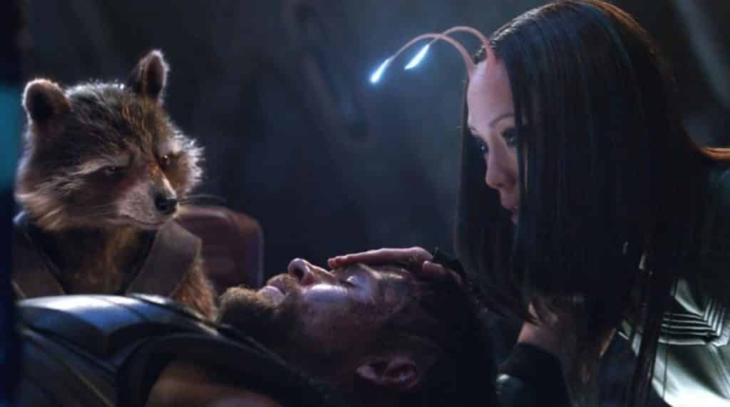 Avengers: Infinity War Thor Guardians of the Galaxy