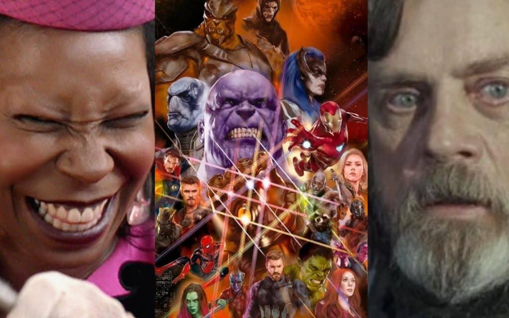 Avengers: Infinity War Whoopi Goldberg Mark Hamill