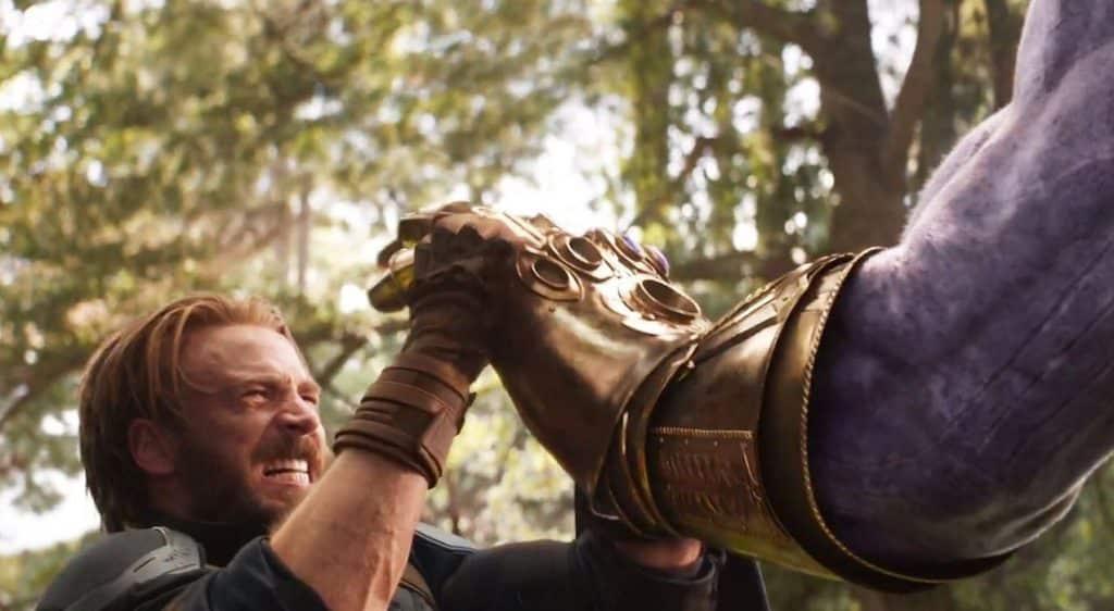 Captain America Thanos Avengers: Infinity War