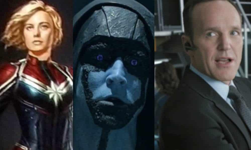 captain marvel starts production key marvel characters