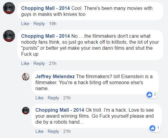 Chopping Hall Director Robert Hall