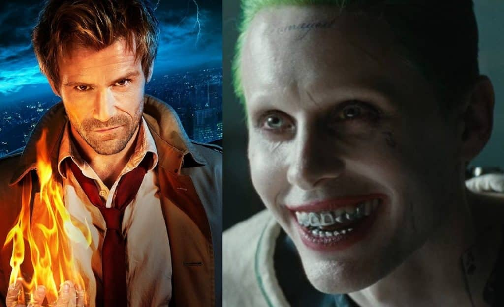 Constantine Matt Ryan The Joker Jared Leto