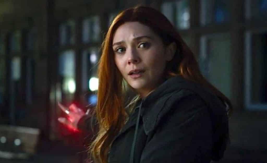 Elizabeth Olsen Scarlet Witch Avengers: Infinity War