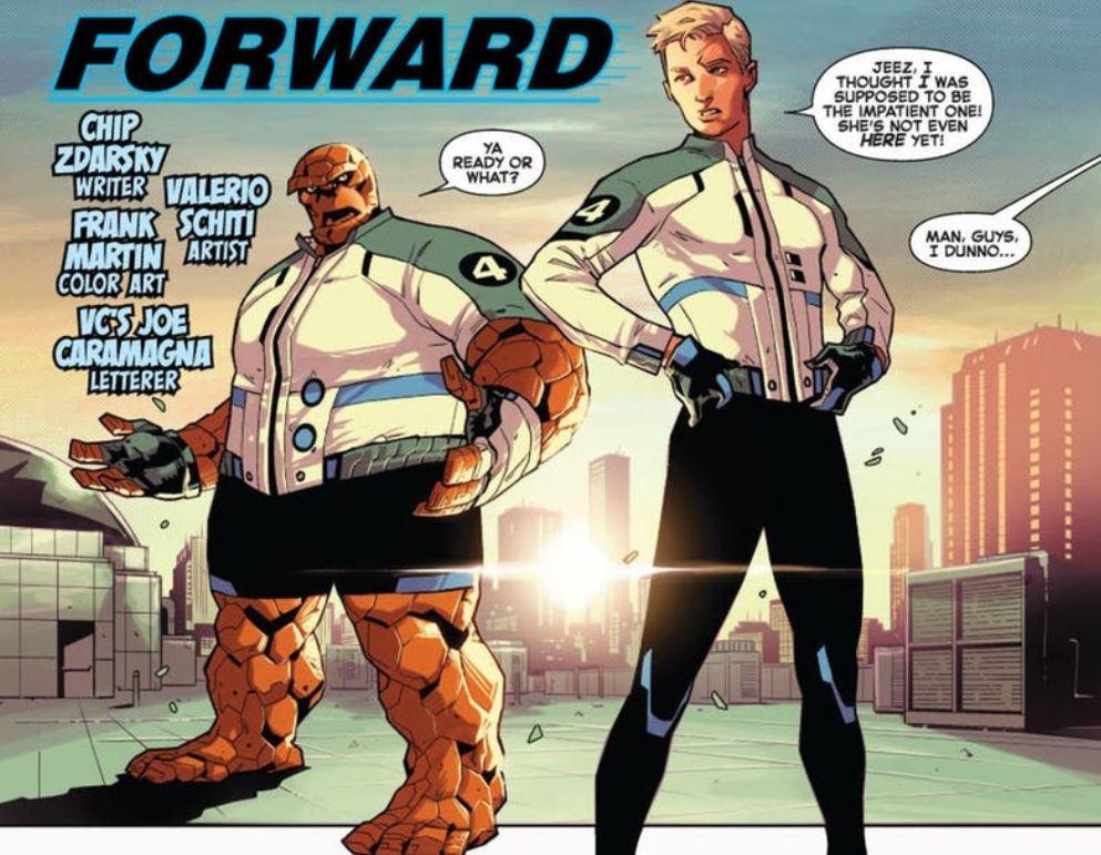 Fantastic Four New Costumes