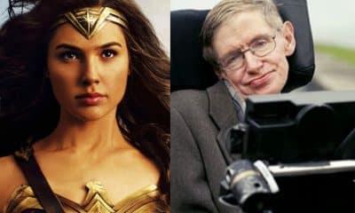 Gal Gadot Stephen Hawking