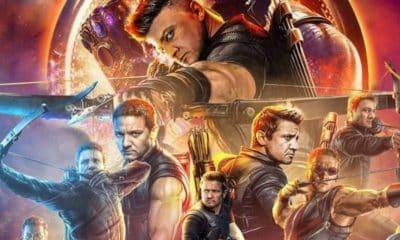 Avengers: Infinity War Hawkeye Poster