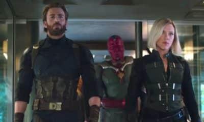 Avengers: Infinity War Captain America Black Widow