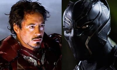 Iron Man Black Panther