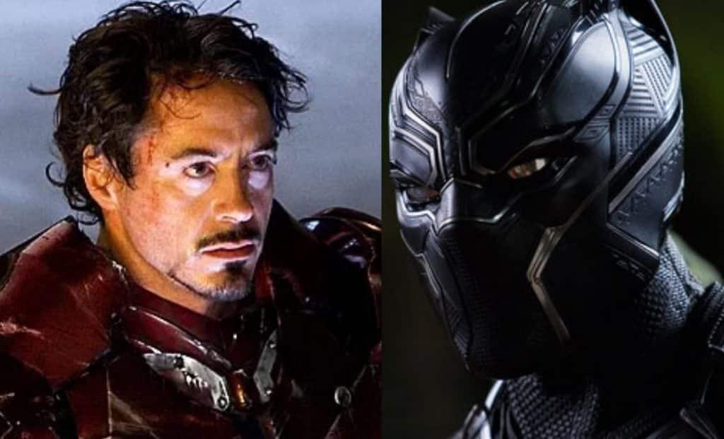 Iron Man Black Panther
