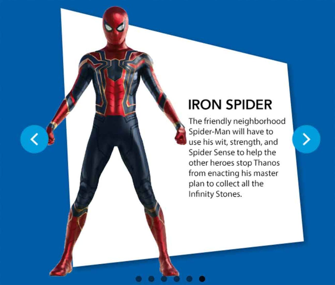 Iron Spider Toy