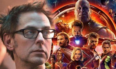 James Gunn Avengers: Infinity War