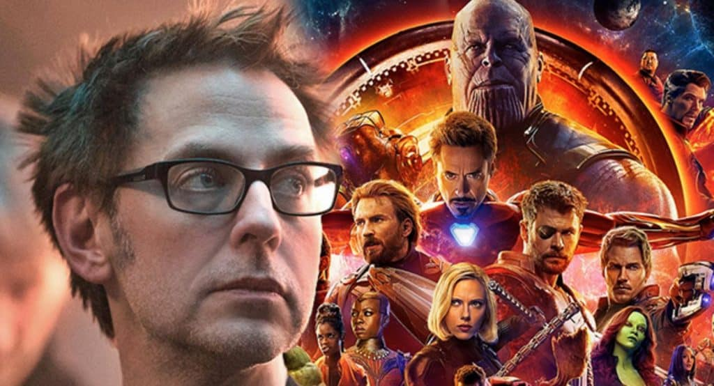 James Gunn Avengers: Infinity War
