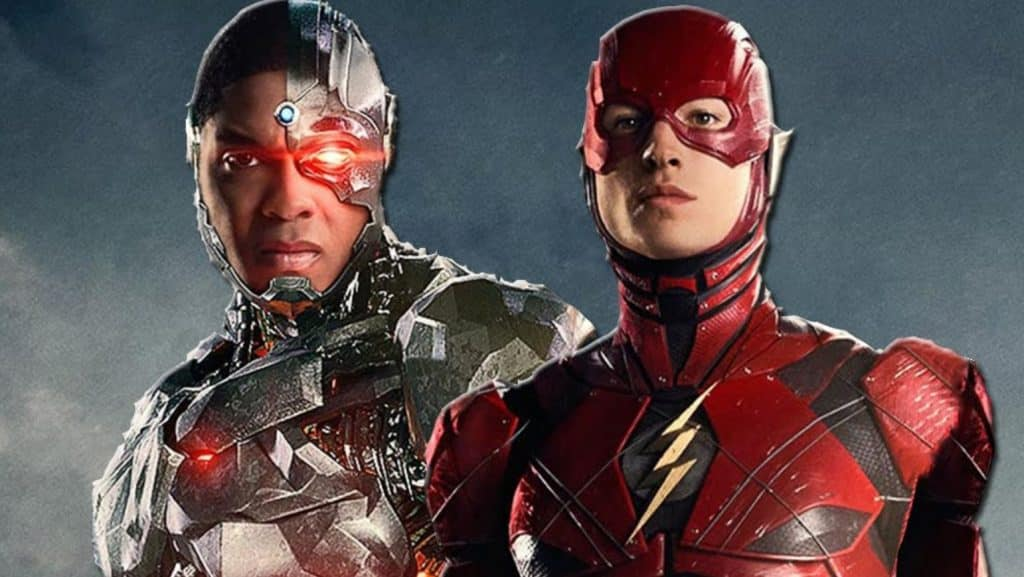 Justice League Cyborg The Flash Ray Fisher Ezra Miller