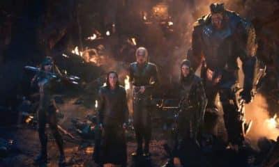 Loki Black Order Avengers: Infinity War
