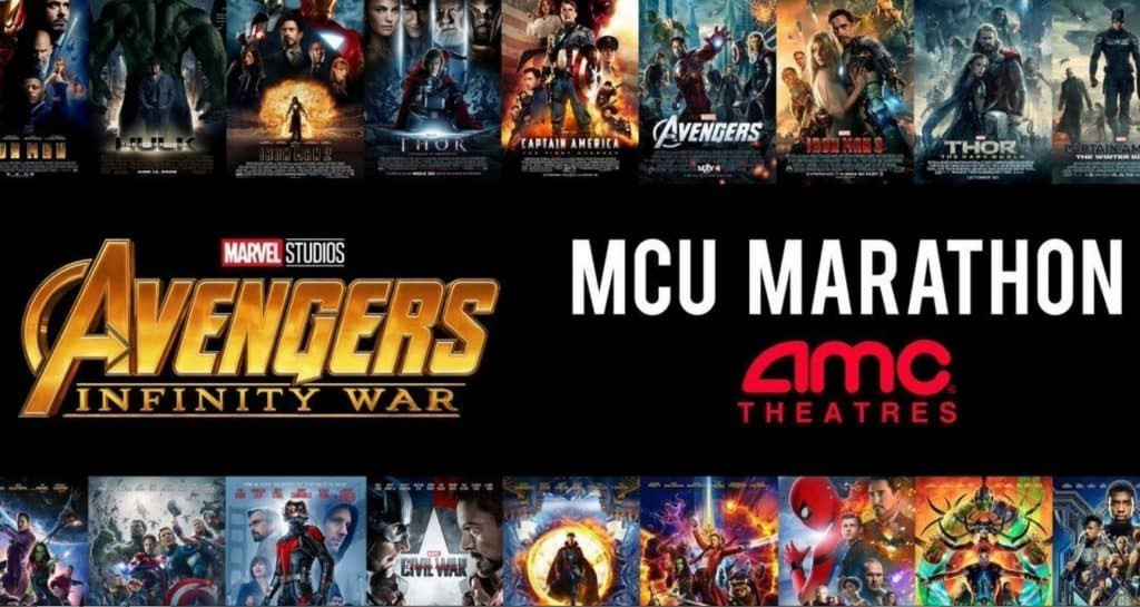 31-Hour MCU Marathon Coming To AMC Theatres Before ...