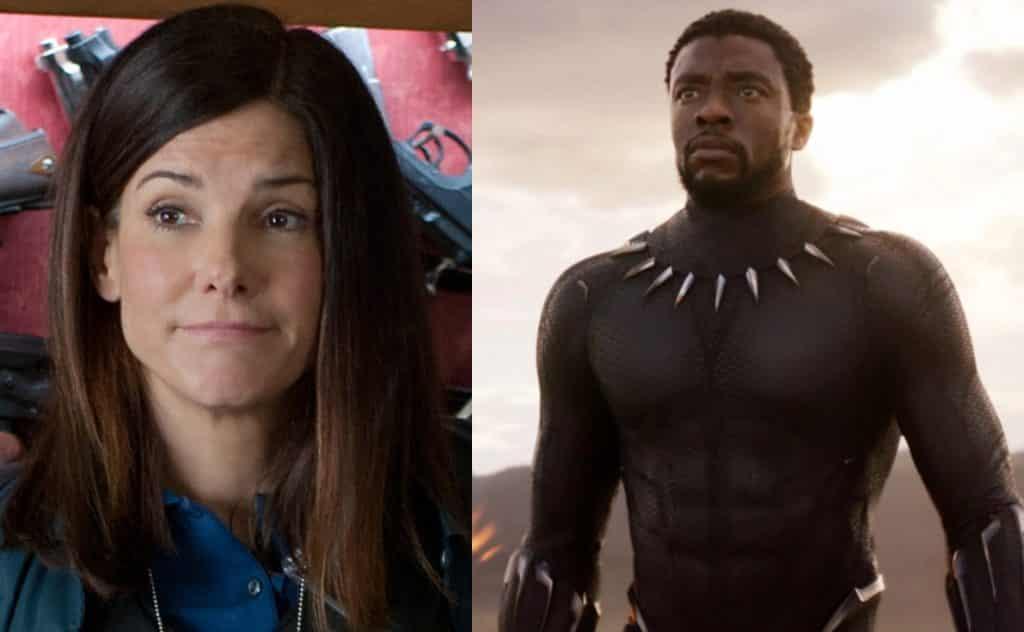 Sandra Bullock Got Very Emotional About Black Panther