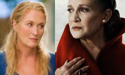 Star Wars Meryl Streep Princess Leia Carrie Fisher