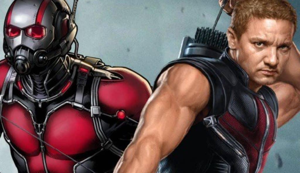 Avengers: Infinity War Ant-Man Hawkeye