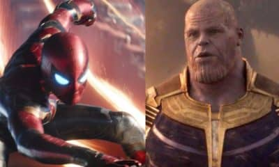 Avengers: Infinity War Spider-Man Thanos