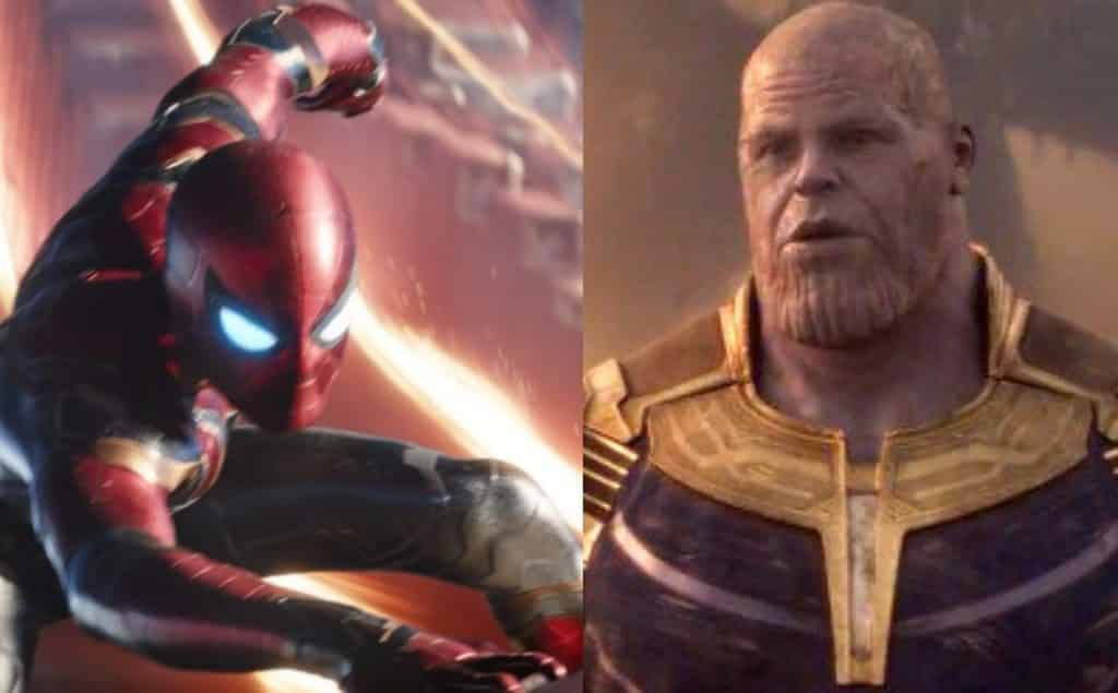 Spider-Man Fights Thanos In New 'Avengers: Infinity War ...