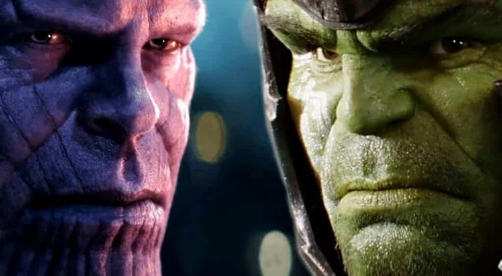 Avengers: Infinity War Thanos Hulk
