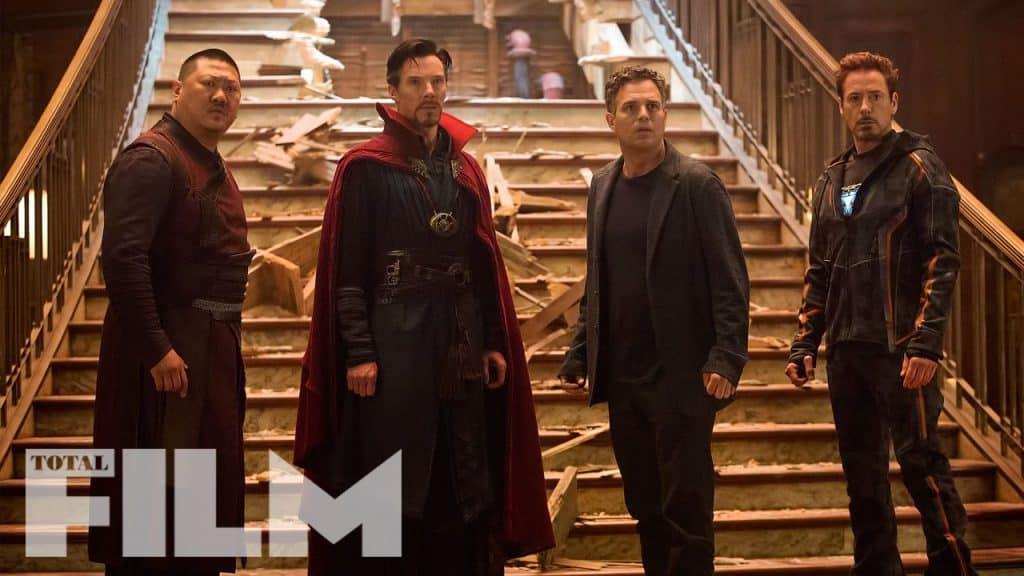 Avengers: Infinity War Wong Doctor Strange Bruce Banner Iron Man