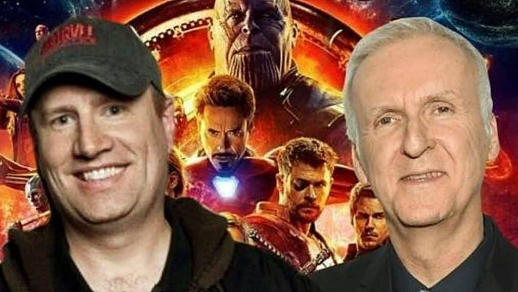 Avengers Kevin Feige James Cameron