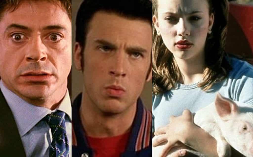 Avengers Movie Stars